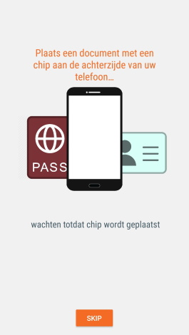MRZ en NFC authenticatie verificatie en informatie